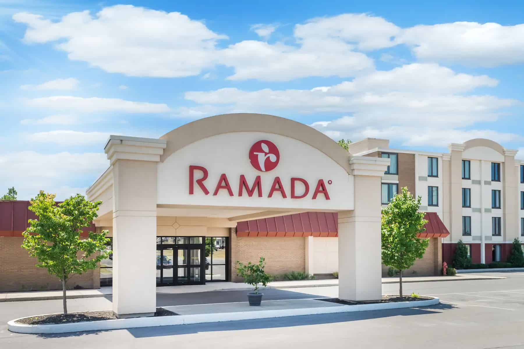 Ramada Watertown Front Entrance